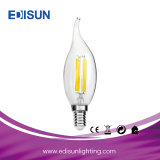 Luz de la vela del LED con las luces de la Navidad de la cola 5W E14/E27