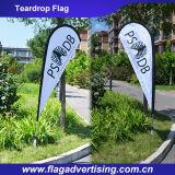 Bandeira de anúncio feita sob encomenda do vento do vôo, bandeira da bandeira da lâmina