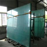 Grande glace pour la frontière de sécurité de syndicat de prix ferme, portes en verre de glissement/porte en verre de pièce