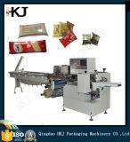 Máquina automática de empacotar tipo travesseiro para Noon Cake, Biscuits