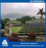 Telhado galvanizado do painel solar do suporte do aço estrutural