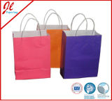 Pruple Paper Craft Bags mit Handle