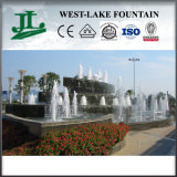Railway Station에 있는 옥외 Water Stone Fountain