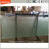 het Zuur van de Vingerafdruk van 419mm Silkscreen Print/No etst/het Berijpte/Aangemaakte Glas van het Patroon Veiligheid voor het Scherm van de Douche, Badkamers, Omheining met SGCC, Ce, ISO- Certificaat