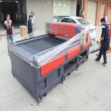 Автоматическая подавая индустрия автомата для резки автомата для резки лазера одевая кожаный