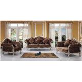 Sofá de la sala de estar/sofá de madera (YF-D932)