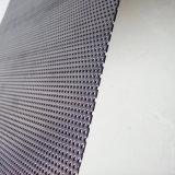 装飾によって打ち抜かれる金属の網またはシートの天井またはろ過またはふるいまたは壁のクラッディングか健全な絶縁体