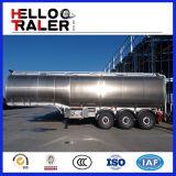 acoplado del petrolero del combustible 42cbm con la suspensión mecánica/del aire común