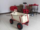 Chariot en bois de plage de chariot de main pour le bébé