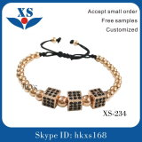 ステンレス鋼の宝石類の方法メンズブレスレット