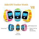 다중 색깔 (Y8)를 가진 GPS 시계가 접촉 스크린에 의하여 농담을 한다