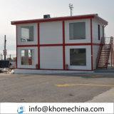 Bergbau-Site-Arbeitslager-Haus-vorfabriziertes Haus-Fertighaus mit Küche-Toiletten-Dusche-Räumen