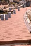 Decking della pavimentazione WPC del legname della castagna