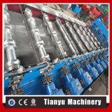 Roulement glacé de feuille de tuiles de toit de couleur d'opération formant des machines