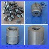Ponta redonda de carboneto cimentado com furo para pulverização