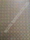 Feuille gravée en relief par herbe d'acier inoxydable