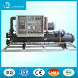 Refrigerador de água industrial de refrigeração água do refrigerador do parafuso do fabricante