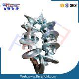 Form Iron Galvanized Formwork Tie Rid Nut für Formwork Scaffolding