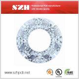 Aluminium 1.6mm 2oz PCB van de Raad van de Onderdompeling Gouden voor LEIDENE Verlichting