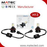 제조 가격은 세륨 RoHS 증명서에 Rtd LED 기관자전차 헤드라이트 H7 H4 H11 9005 9006를 개조한다