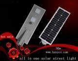 5 anni della garanzia 50W LED del giardino di indicatore luminoso di via solare con il sensore di PIR