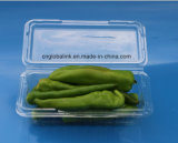 Bandeja disponible del empaquetado plástico de la ampolla de las cubiertas para la pimienta con el FDA