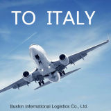 Servizio dell'aereo da trasporto dalla Cina a Roma, Italia