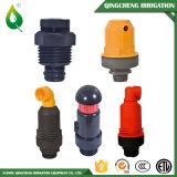 Válvula de aire plástica de la relevación del ambiente del pelele de la irrigación
