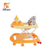 En71公認の高さの8つの車輪を持つ調節可能な赤ん坊の歩行者