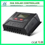 LCD表示(QWP-SR-HP2450A)が付いているリチウム電池12/24V 50Aの太陽コントローラ