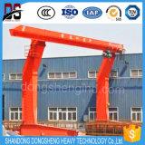 5-50t L grue de portique simple modèle de bride de fixation de faisceau principal