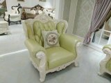 Qualitäts-königliches Art-Leder-Sofa (B16)
