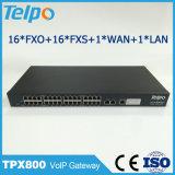Telpoの工場直接中国ビジネス解決FXS VoIPスイッチ
