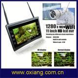 Befund IP-Kamera der Bewegungs-1080P 11 Zoll - hoher Difinition LCD Bildschirm WiFi NVR Installationssatz
