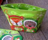 Crear los pequeños bolsos de papel del regalo para requisitos particulares con la parte inferior plana
