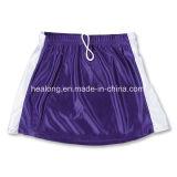Jupe de Lacrosse de filles de sublimation de prix usine de Healong Teamwear