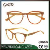 Het populaire Frame Sr6061 van de Glazen van het Oogglas van Eyewear van de Voorraad van de Acetaat In het groot Optische