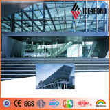Ideabond Foshan PVDF Coated Aluminum Composite Panel para Wall Decoration