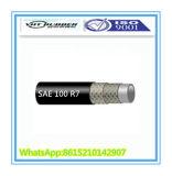 Boyau R7 hydraulique approuvé d'OIN 9001 SAE 100