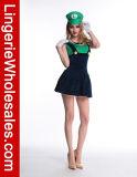 Люкс Costume Cosplay водопроводчика Марио платья партии Halloween женщин