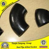 Encaixe de tubulação chanfrado soldado extremidade do cotovelo da extremidade de ASTM B 16.9
