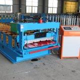 Rolo de aço das folhas da telhadura da cor da manufatura de China que dá forma à máquina