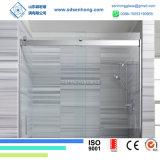 Dekoratives Schwingen, das Frameless ausgeglichenes Glas-Dusche-Tür schiebt