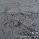 Tissu de rayure en polyester textile à courte paille décoratif
