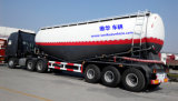 cemento a granel 40cbm/del petrolero acoplado material semi con 3 árboles
