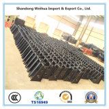 16 тонн подвеса сверхмощного полуприцепа механически трейлера тележки
