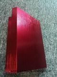 Profil en aluminium balayé et anodisé de coutume d'extrusion