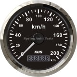 Populaire 85mm GPS Speedometer Velometer 200km/H 12V 24V voor All Cars Motorcycles Trucks