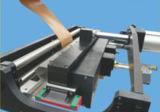 アルミニウムPVC /Pur/ペーパーフィルムのメラミン木製のドアのプロフィールの熱い接着剤の溶解の包む機械