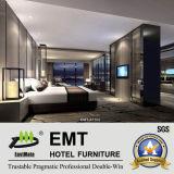 Mobilia moderna della camera da letto della mobilia dell'hotel di stile impostata (EMT-A1102)